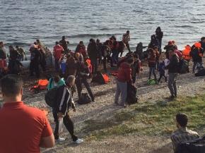 GP volunteers in the Lesbos RefugeeCamp