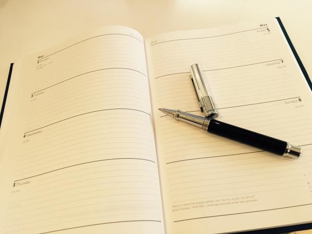 Diary shot